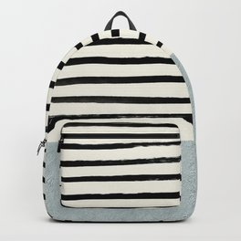 Silver x Stripes Backpack