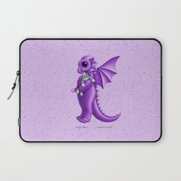 Dragon baby k, purple Laptop Sleeve