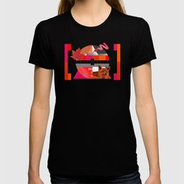 Waiting for the show to begin (Test Pattern 6) T-shirt