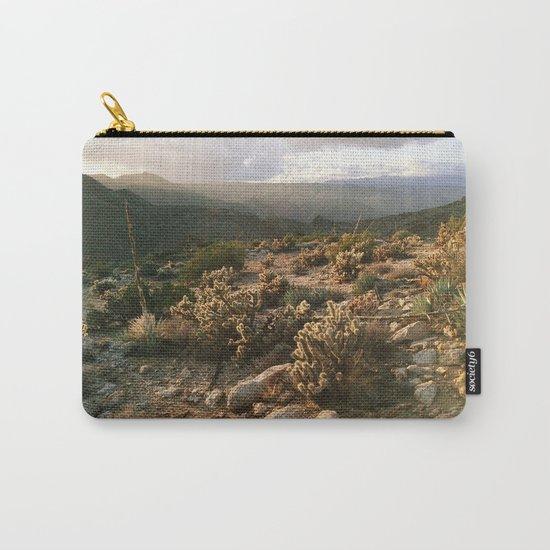 Borrego Desert Sunset Carry-All Pouch