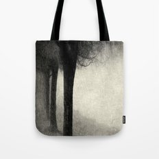 Twins in the Forest Tote Bag
