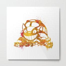 Catbus Metal Print