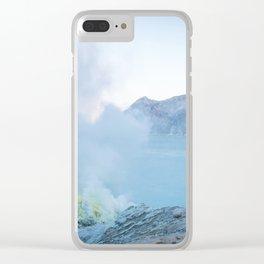 Kawah Ijen, Indonesia Clear iPhone Case