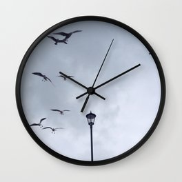 Seagulls at Cromer Wall Clock
