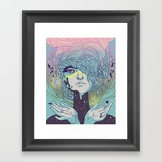 Braided Reality Check Framed Art Print