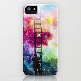 Show me the way out of this darkness iPhone Case