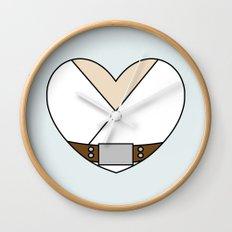 Luke Skywalker Character Heart Wall Clock