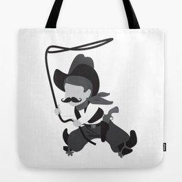 Cute Cowboy with Lasso Tote Bag