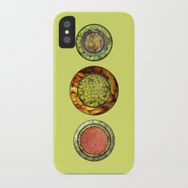 Food Mix Tris iPhone Case