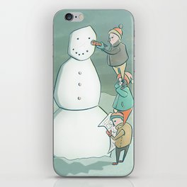 Building the Perfect Snowman iPhone Skin
