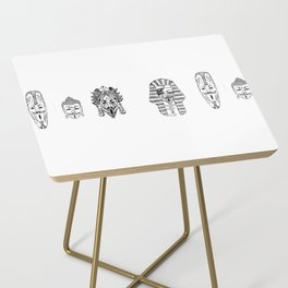 Anonymous - Egypt, Africa, China, Mexico Side Table