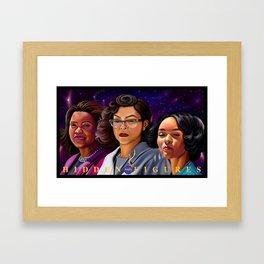 Hidden Figures Framed Art Print