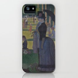 A Sunday on La Grande Jatte iPhone Case