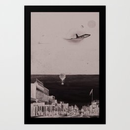 Moving on Up Art Print