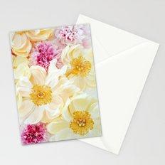 peony cascade Stationery Cards