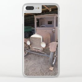Ford car Antique Clear iPhone Case