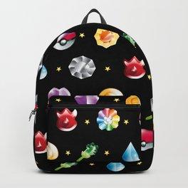 Gaming Pokemo Pattern Pika Backpack