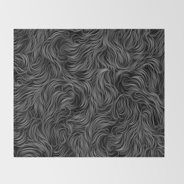 ab/strings-g Throw Blanket