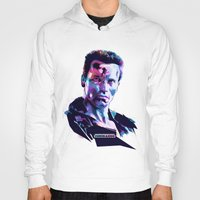 arnold Hoodies featuring Arnold Schwarzenegger: BAD ACTORS by mergedvisible