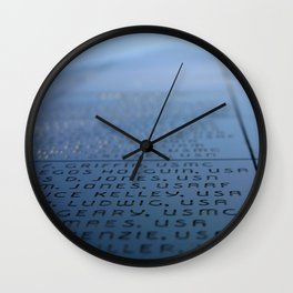 Oxnard Veterans Memorial Wall Clock