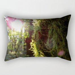 In the Green Rectangular Pillow