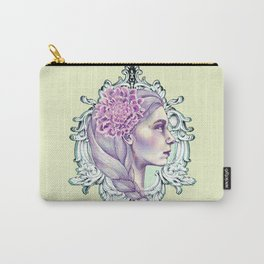 Girl in Mirror Carry-All Pouch