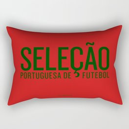 Euro 2016: Portugal Rectangular Pillow
