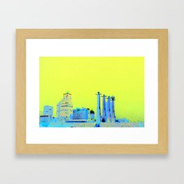 KC Skyline Framed Art Print
