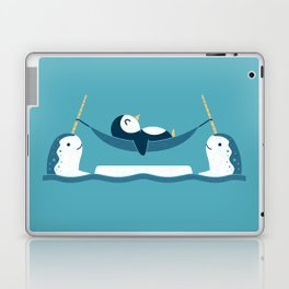 Chilling With Narwhals Laptop & iPad Skin