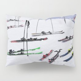 Skiers can't read ;o) Pillow Sham