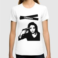 lindsay lohan T-shirts featuring Lindsay Lohan. by 161926