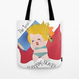 The true stroy of Sleeping Beauty / La verdadera historia de la Bella durmiente Tote Bag