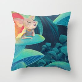 Mouse Dreams Throw Pillow