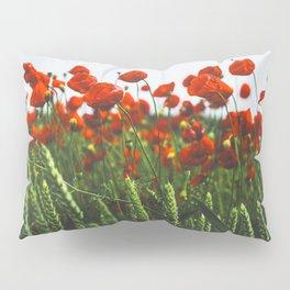 Poppy Flowers Pillow Sham