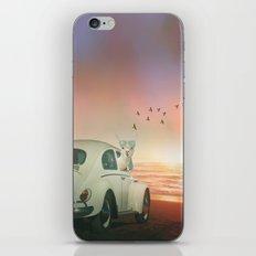 NEVER STOP EXPLORING A SUNDOWN iPhone & iPod Skin