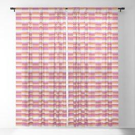 *STRIPE_PATTERN_1 Sheer Curtain