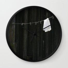 Clothesline Wall Clock