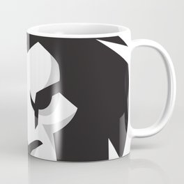 Black & White lion x Crown Coffee Mug