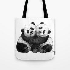 Panda's Hugs G143 Tote Bag