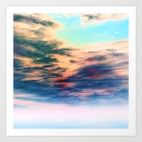 heaven Art Prints featuring Heaven by Amy Sia