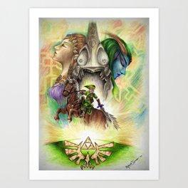The Twilight Princess Art Print