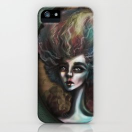 Drama of The Dark and Wicked iPhone Case