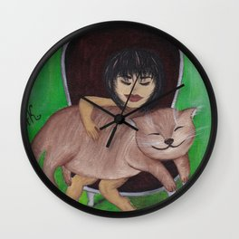 """From the """"Tango with a cat"""" serial Part#4 Wall Clock"""