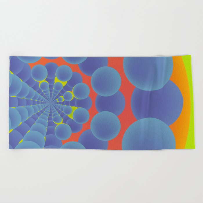 Túnel de colores · Glojag Beach Towel