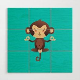 ChimpanZEN Wood Wall Art