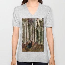 In The Woods Unisex V-Neck