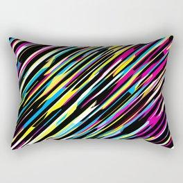 Diagonals color mix Rectangular Pillow