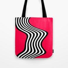 Wavy Lines - Graphic Art piece Tote Bag