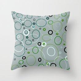 circle metamorphis Throw Pillow