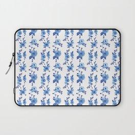 CB x SK BLUE FLORAL Laptop Sleeve